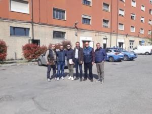 01.04.19 L' ADP conquista anche Bologna. L'amico Sdanga il nuovo Segretario Provinciale con il suo gruppo di amici (foto 1).