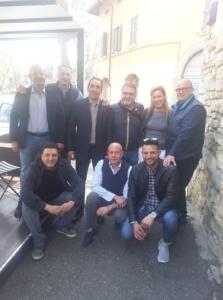 02.04.19 La Segreteria Nazionale ADP con la Segreteria Provinciale di Bergamo affidata all'amico Don.