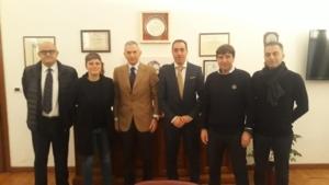 03.12.19 Torino e a Milano. Importanti incontri con i Sigg. Questori