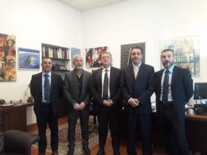 16.01.20 Incontro con il Direttore dell'Ufficio Presidenziale della Polizia di Stato Dirig Generale Iannielli (presso Quirinale)