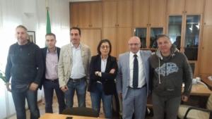 17.10.2017 Incontro positivo con la Dott.ssa Piera Romagnosi Dirigente superiore della Polizia Stradale per l' Emilia Romagna