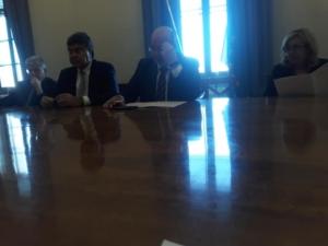 22.01.20 riunione con il Vice Ministro On Crimi e l'On Fiano insieme ai ragazzi dei 455 (foto 2)