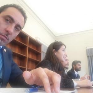 22.01.20 riunione con il Vice Ministro On Crimi e l'On Fiano insieme ai ragazzi dei 455 (foto 4)