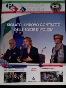 Rivista Sicurezza & Polizia n.1 copertina