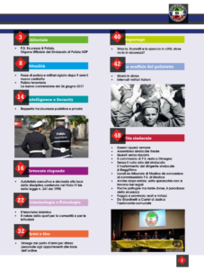 Rivista Sicurezza & Polizia n.1 indice pag. 5